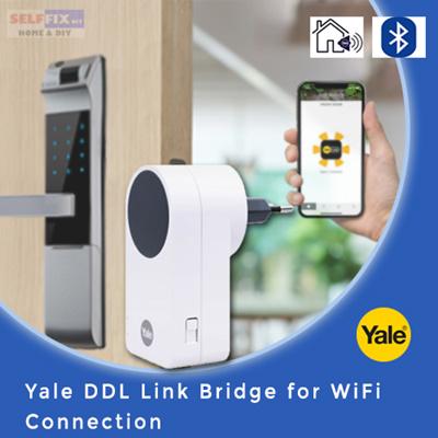 SELFFIX COUPON【Yale】 DDL Link Bridge for WiFi Connection (Unlock the door  lock easily using app)