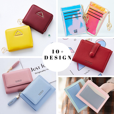 a490911cdf71 SensationBiz[NEW ARRIVAL] ★ KOREA WALLET★❤SOFT PU Leather❤Women Short  Wallets❤Multi Card holder Purse❤ Pouch
