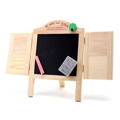 moderate Kosten Offizieller Lieferant noch nicht vulgär SensemartMini Blackboard Jalousie Chalkboard Table Card Easel Frame Menu  Photo Props Desk Educational Toys