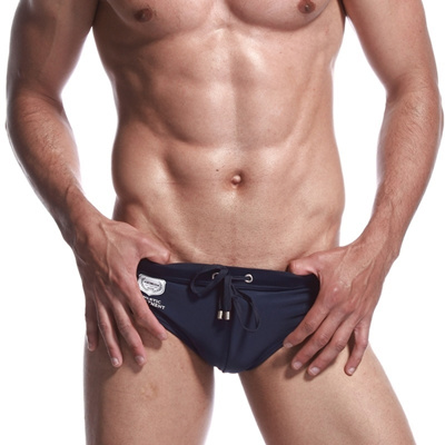 SEOBEAN PREPPY STYLE CATCHING MALE SWIMMING PANTS SWIMMING BRIEFS