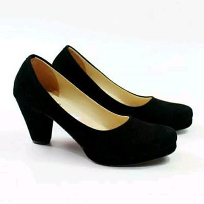 Qoo10 - Sepatu hak tinggi wanita pump heels pantopel kerja simple ... bda1710fd2