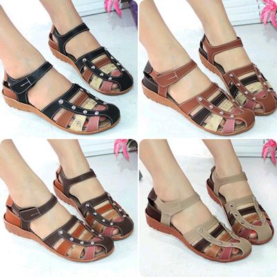 Sepatu wanita sepatu flat mulan sandal 58d0066c1f