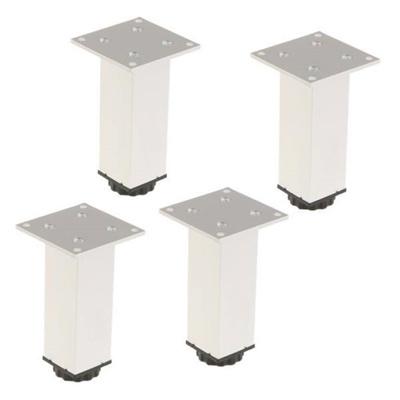 Sensational Set Of 4 Sofa Legs Furniture Chair Table Desk Feet Square Shape 66X66X100Mm Short Links Chair Design For Home Short Linksinfo