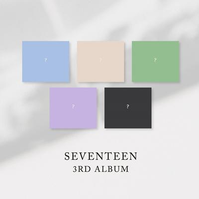 [Loen Entertainment]SEVENTEEN - 3RD ALBUM [1+2+3+4+5 ver  SET] (Vol 3)  5CD+5Pre-Order Benefits+5Folded Posters+Free Gift