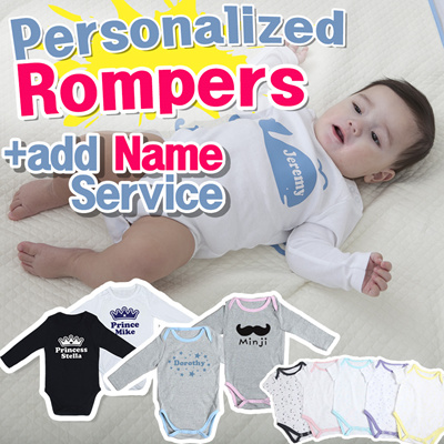 fec568adf8c  Only One for my baby Personalized Baby Rompers  print your baby name