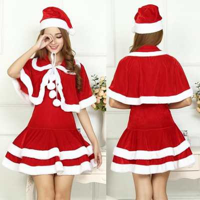 c9db1e9fb7 Qoo10 - Sexy Christmas Costumes Women Christmas Clothes Women Sexy Santa  Costu...   Sportswear