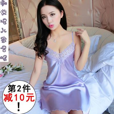 Qoo10 - Sexy cute ladies Pajamas summer summer temptation Lace Lingerie  strap ...   Underwear   Sock. da354617e