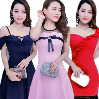 9a2f52707e1a2 Qoo10 -  Sexy Ladies Dress All Flat Price CNY Collection Dinner Dress Buy 3  Fr...   Women s Clothing