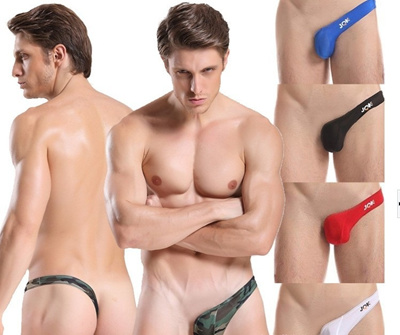 Sexy gay men fashion show thong
