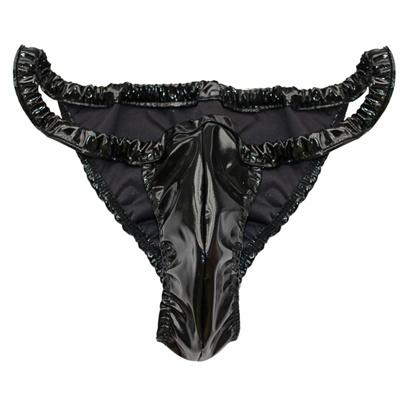 73f5f6c49dc Qoo10 - Sexy Mens High Cut Bikini Briefs Underwear : Men's Clothing
