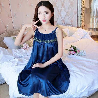 41ba3aca08 Qoo10 - sexy sleepwear long night dress women nightdress silk nightgown  night ...   Underwear   Sock.
