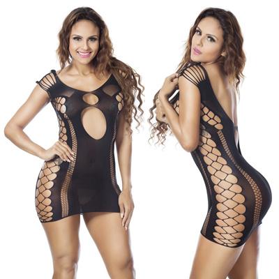 643921a53a Qoo10 - Sexy Women Fishnet Sheer Open Crotch Body Stocking Bodysuit ...