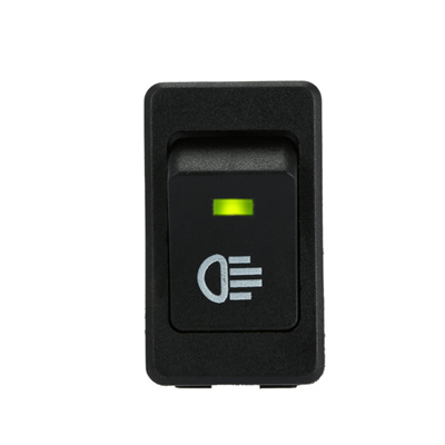 SG 4Pins 35A Car Rocker Switch with LED ON/OFF Indicator for Driving Fog  Lamps Headlight Work Light