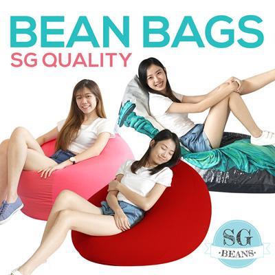 Sg Beans Bean Bag Spandex Chair