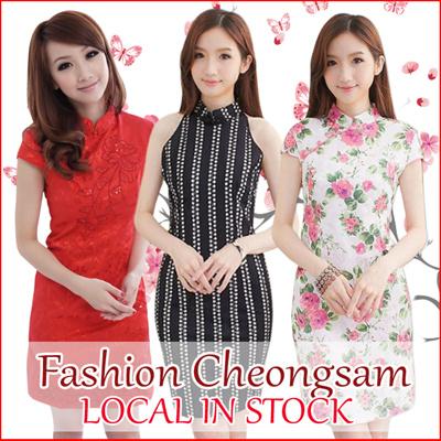 c19b55635835 Qoo10 - cheongsam   Women s Clothing