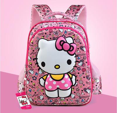 b02901a4d6 ☆SG Seller☆In Stock☆ Hello Kitty Backpack   Bag   Children School Bag