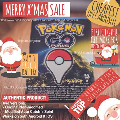 Sg Seller Pokemon Go Plus Original Modified Auto Auto Go Tcha