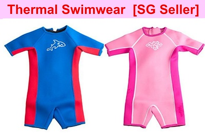 11b26bf1fa Qoo10 - [SG seller]Thermal swimwear kids Thermal swim suit Keep warm  Snorkelin... : Sportswear