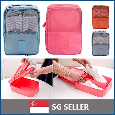 179c4ef4136f Qoo10 - Travel Shoe Bag   Men s Bags   Shoes