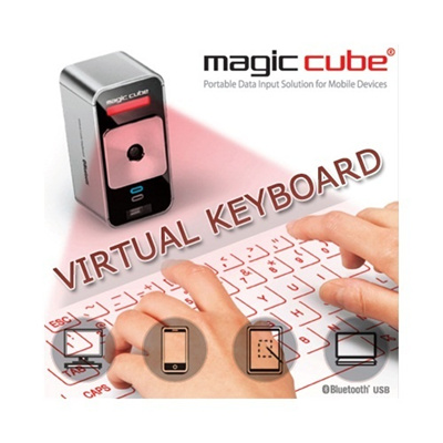BEST SELLER Celluon Magic Cube Virtual Keyboard Compatible With Iphone Ipad