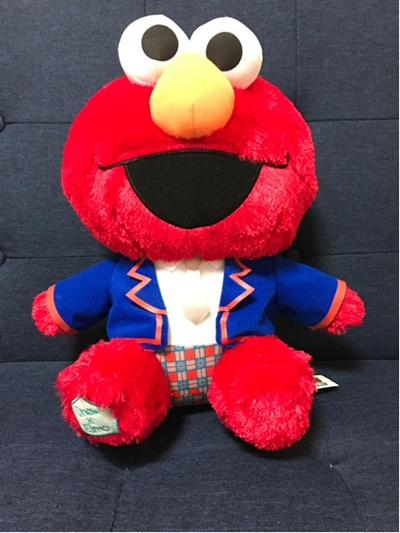 Qoo10 Shinee X Sesame Street Large Elmo Onew Plush 30cm Toys