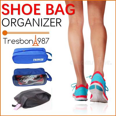 ☆Shoe Bag Sports Running Travel Organiser Foldable Gym Exercise etc Storage 048bd11864ef5