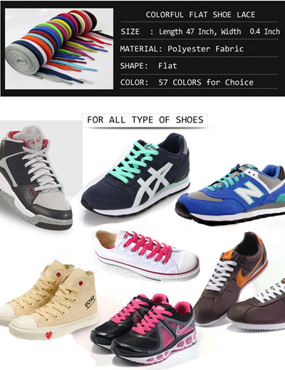 SHOE LACE / athletic shoelace / Sneaker shoelaces / shoe laces / flat shoe  laces /