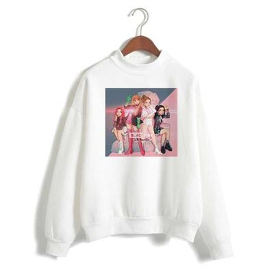 shop 2019 BLACKPINK Album Kpop Sweatshirt Hip Hop Casual k pop Printed  Hoodies Clothes Pullover Prin