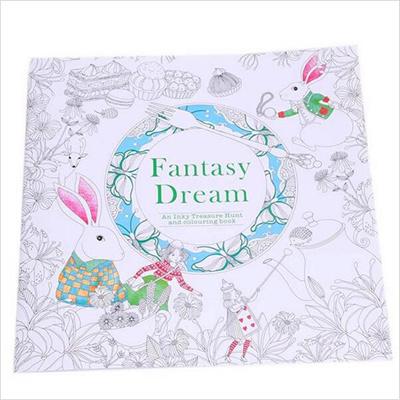 Qoo10 Shop 24 Pages Fantasy Dream English Edition Coloring Book
