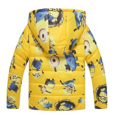 68ac925c5f39 Qoo10 - shop Minion Jacket K   Kids Fashion