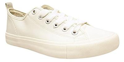 87cd43d1b4 (Shop Pretty Girl) Shop Pretty Girl Women s Casual Canvas Shoes Solid  Colors Low