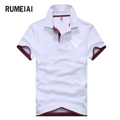 Qoo10 Shop Rumeiai New Polo Men 2018 Summer Printing Fashion Mens