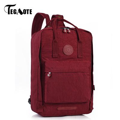 06eeb0084f00 shop TEGAOTE Male Backpack Bolsas Mochila Masculina Men s Shoulder Bagpack  School Backpacks Bag for