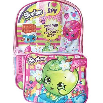 Qoo10 - Shopkins backpack with Matching Lunchbox Set   Furniture   Deco 7798fcb0abe7d
