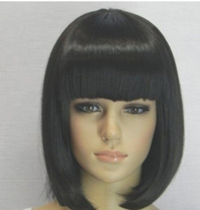 Black bob wig with bangs remarkable phrase