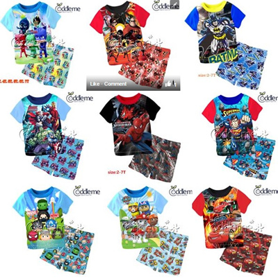 78fecc53c474 Qoo10 - ss+sp boy pj   Kids Fashion