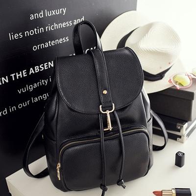Shoulder Bag Female Korean Version Pu Backpack Fashion Handbags College Las 2017 New Tide