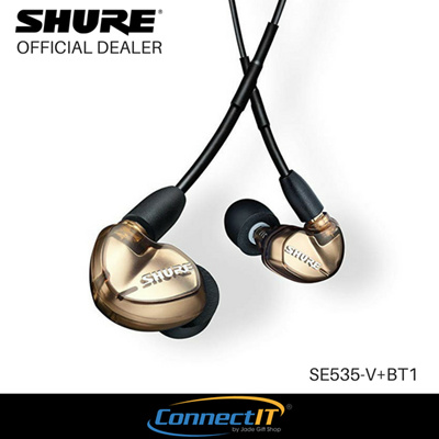 5b647e5b8f0 Shure SE535-V+BT1 Wireless Sound Isolating Earphones with Bluetooth Enabled  Communication Cable