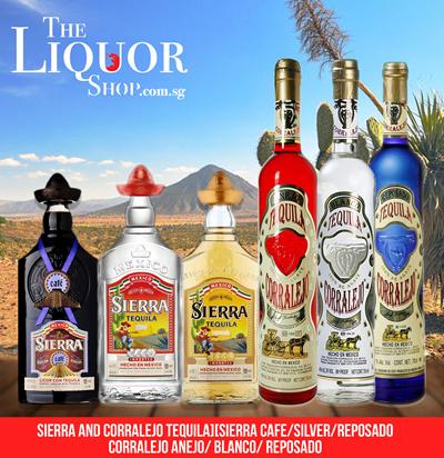 Qoo10 - SIERRA TEQUILA : Drinks & Sweets