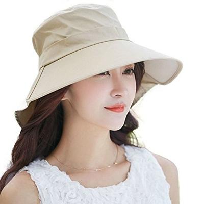SIGGI Siggi Womens Summer Bill Neck Flap Hat UPF 50+ Cotton Sun Cap with  Large 319bd27b7d0b
