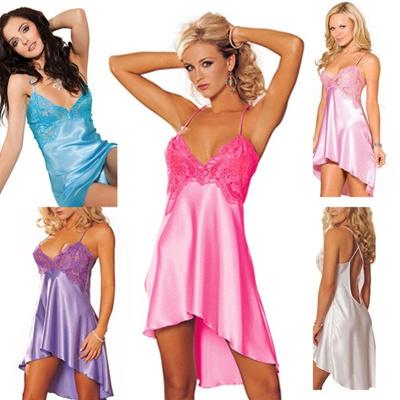 2e376e45f5 Qoo10 - Silk Satin Kimono Robe Dressing Gown Wedding Bridesmaid Sleepwear  Bath...   Underwear   Sock.