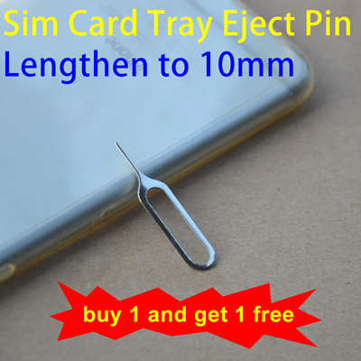 Sim Card ejector pin Tray Eject needle Tool Pin long to 10mm smart mobile  phone iphone samsung