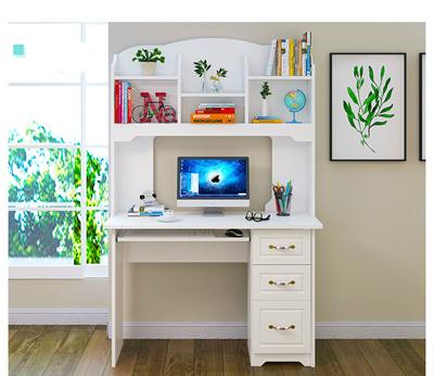 Simple Desk Bookshelves Laptop Table Computer Study Student