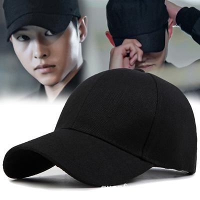 4c7e0719363 Qoo10 - シンプル 無地 キャップ 帽子 黑   Fashion Accessories