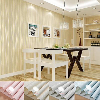 Simple Striped Beige Pink Blue White Silver Wallpaper Non Woven Wallpaper Bedroom Living Room Wall Tv Backdrop Wall Paper Moonlight Forest Glitter