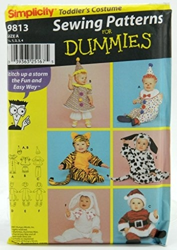 Qoo10 Simplicity 9813 Toddler S Costumes Sewing Patterns For