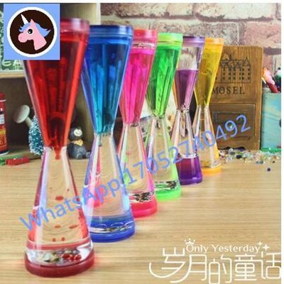 Singapore droplets hourglass timer Hourglass Timer Time Home Decoration  droplets of liquid oil leak