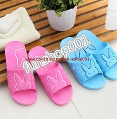 fc00b6766c3e Singapore men and women home slippers indoor slip plastic sandals bathing bathroom  slippers couple f