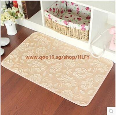 Singapore Rose Cut Flowers Garden Home Skid Pad Carpet Bedroom Bathroom Windows 61989 Hy Life