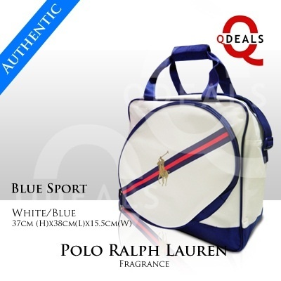 d09c9d396d47 Qoo10 -  Singapore Stock  Brand New Polo Ralph Lauren Fragrance Blue Sport  Bag...   Men s Bags   Sho.
